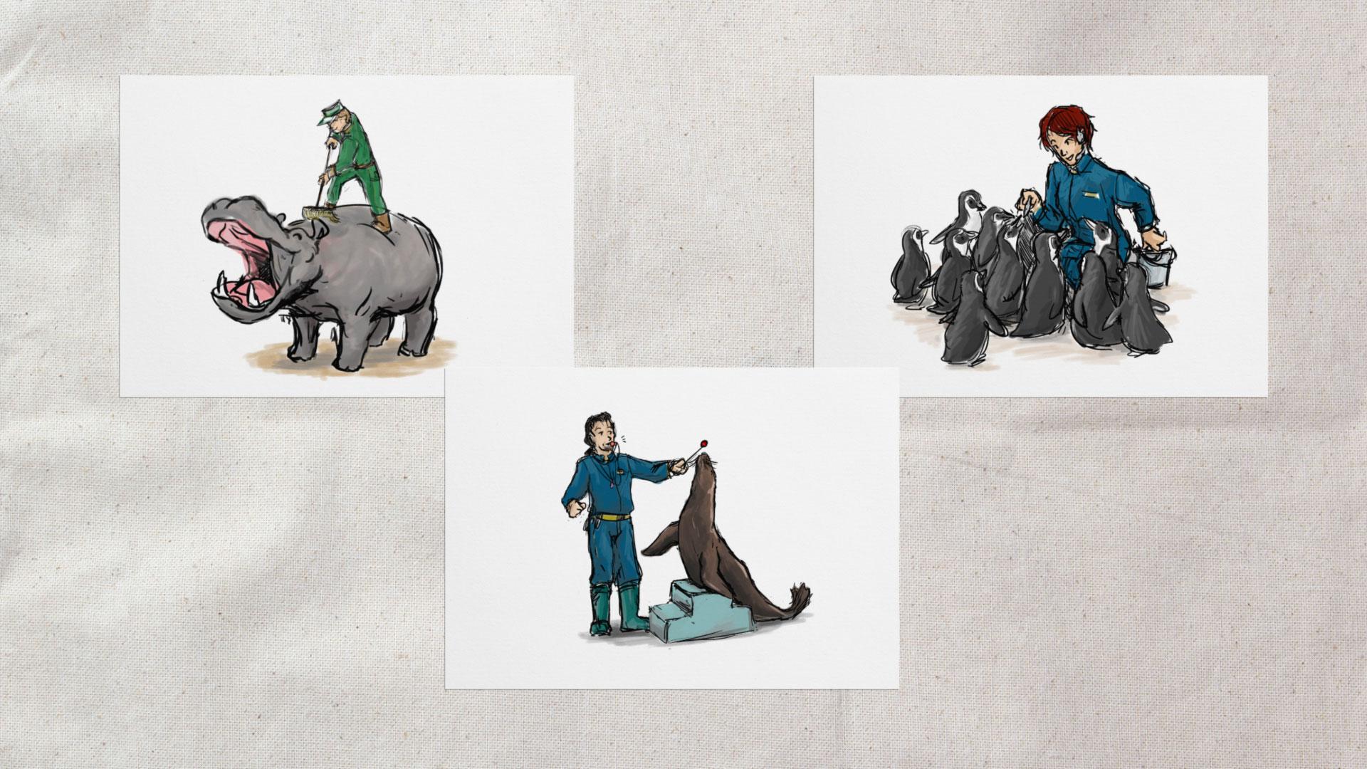 Zoopfleger's Alltag