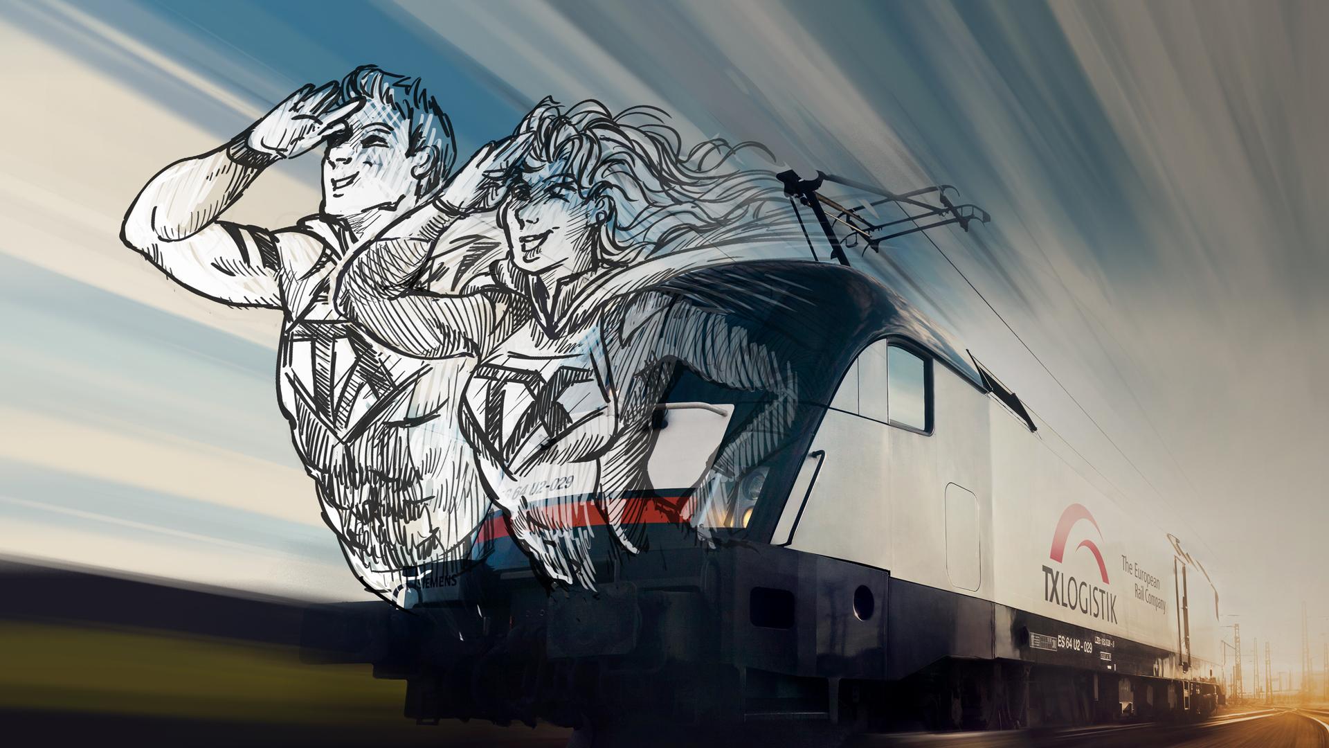Helden auf der Schiene